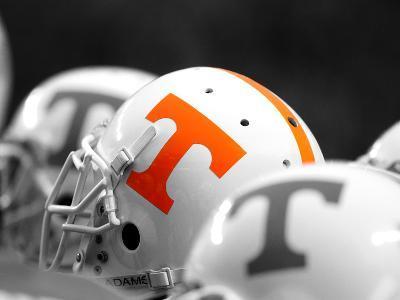University of Tennessee - Football Helmets