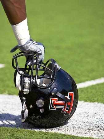 Texas Tech University - Red Raider Helmet