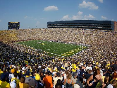 University of Michigan - Blue Skies Above the Big House
