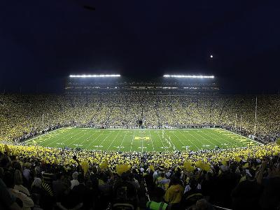 University of Michigan - The Big House under the Lights