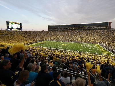 University of Michigan - Wolverine Fans Pack the Big House