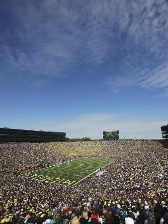 University of Michigan - Football Game Day in Ann Arbor