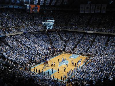 University of North Carolina - UNC vs Duke in the Dean E. Smith Center