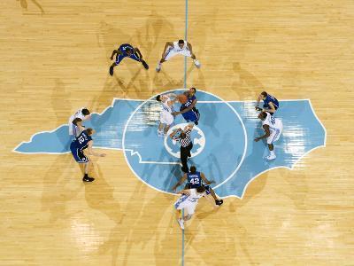 University of North Carolina - The Tip: UNC vs Duke in the Dean E. Smith Center