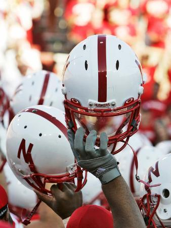 University of Nebraska - Nebraska Football Helmets