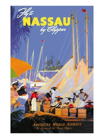 Fly to Nassau by Clipper
