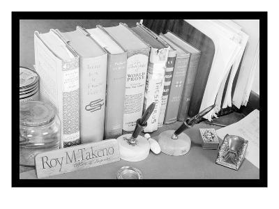 Roy Takeno's Desk