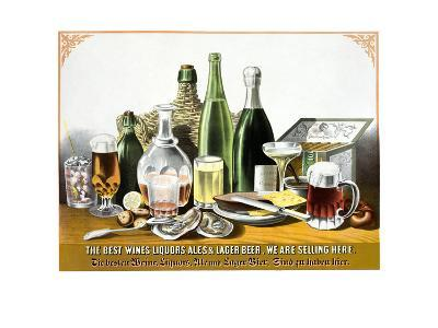 The Best Wines Liquors Ales and Lager Beer. We are Selling Here.