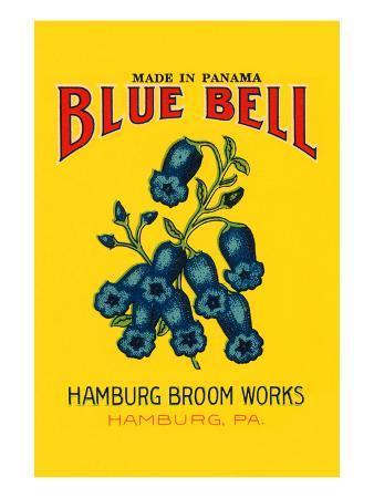 Blue Bell Broom Label