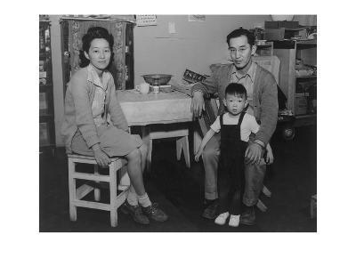 Mr. and Mrs. Henry J. Tsurutani and Baby Bruce