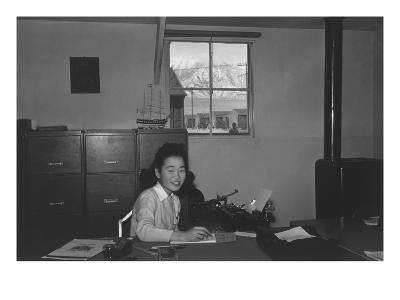 Yoshiko Joan Mori, Stenographer in Education Office