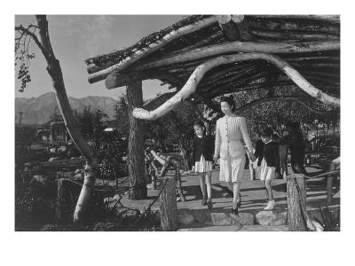 Mrs. Nakamura and Family in Park
