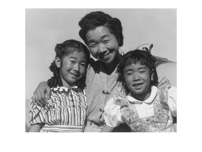 Mrs. Nakamura and 2 Daughters (Joyce Yuki and Louise Tami