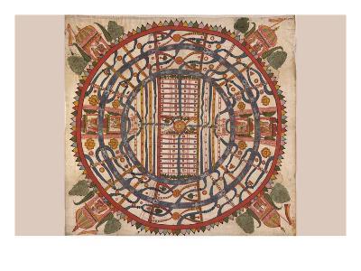 Manu?yaloka, Map of the World of Man, According to Jain Cosmological Traditions