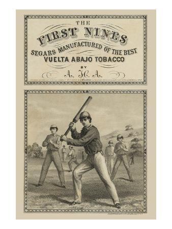 Tobacco Label First Nines Segars