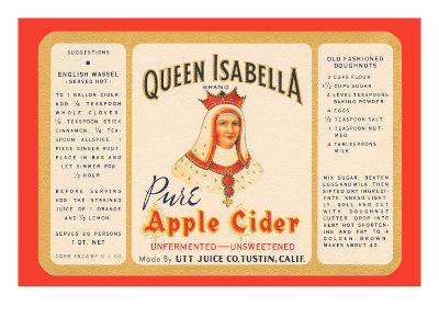 Queen Isabella Pure Apple Cider