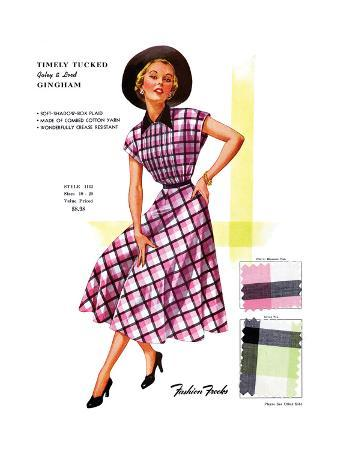 Timely Tucked Gingham