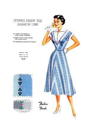 Stripes Draw the Fashion Line