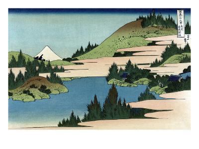 Lake of Hakone in Sagami Province