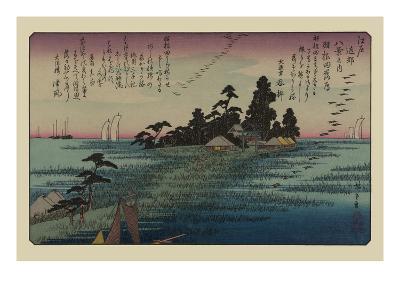 Descending Geese at Haneda
