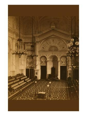 Masonic Hall - Philadelphia - Interior
