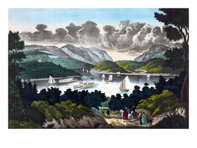 View on the Hudson - West Point