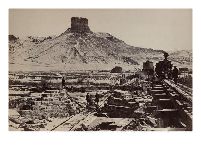Citadel Rock, Green River Valley