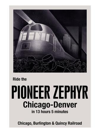 Ride the Pioneer Zephyr