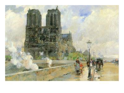 Cathedral of Notre Dame, 1888
