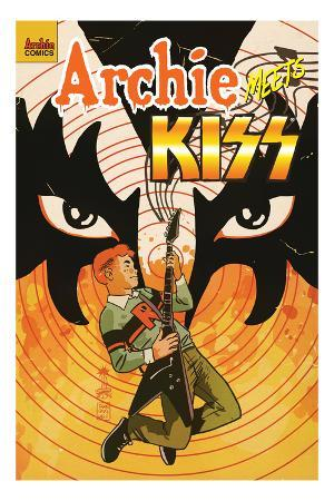 Archie Meets KISS Cover