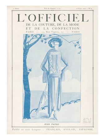 L'Officiel, April 15 1922 - Les Fleurs du Mal