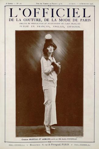 L'Officiel, May-June 1923 - Reproduction Autorisée Par Callot Sœurs