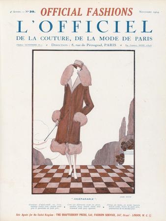 L'Officiel, November 1924 - Inséparable