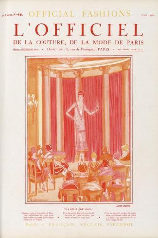 L'Officiel, January 1925 - O Kou-Moura