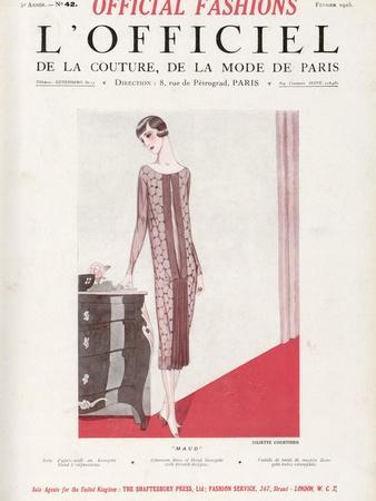 L'Officiel, February 1925 - Maud