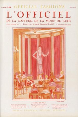 L'Officiel, March 1925 - Mlle Olga Pouffkine