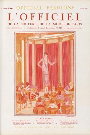 L'Officiel, April 1925 - Mme Elvire Popesco