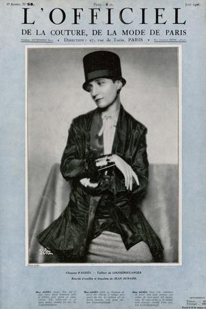 L'Officiel, March 1926 - Comtesse Ghislain de Maigret
