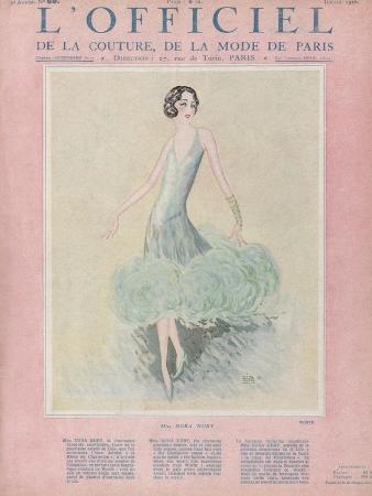 L'Officiel, July 1926 - Miss Dora Duby