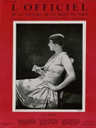 L'Officiel, October 1926 - Princesse Voskonsky en Drecoll
