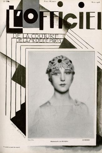 L'Officiel, February 1928 - Mme Agnès