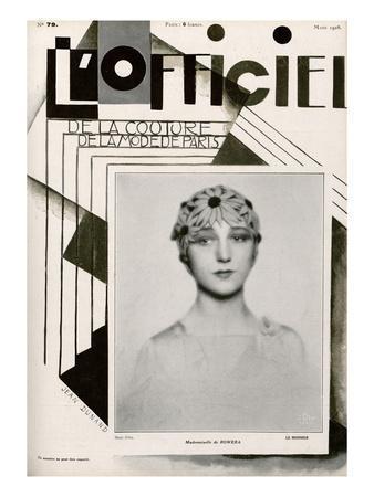 L'Officiel, March 1928 - Mlle de Rowera