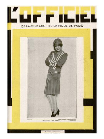 L'Officiel, June 1928 - Mlle Lily Damita