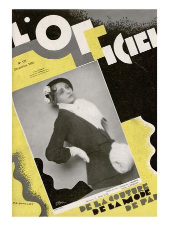 L'Officiel, December 1931 - Madame G. Mouton