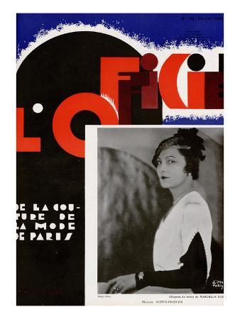 L'Officiel, February 1932 - Mme Ruffo Proven
