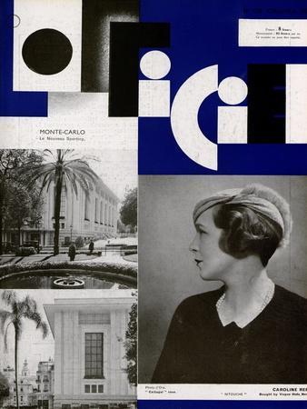 L'Officiel, November 1932 - Mle Roberte Cussey/46 H.P. Hispano Suiza/Carrossée Par Fernandez