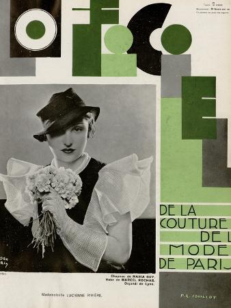 L'Officiel, July 1933 - Lucienne Rivière