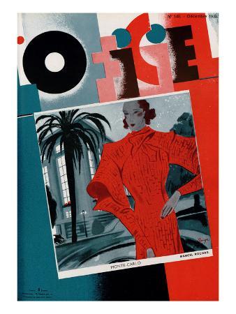 L'Officiel, December 1933 - Lucienne Rivière