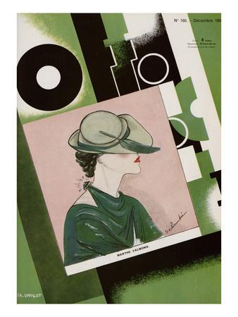 L'Officiel, December 1934 - Marthe Valmont