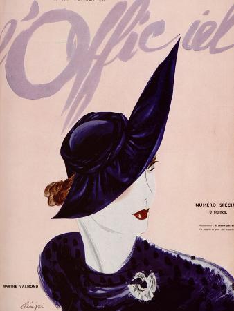 L'Officiel, February 1936 - Marthe Valmont
